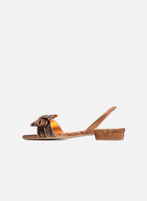 Sandales et nu-pieds Mellow Yellow Belcanto Orange vue face