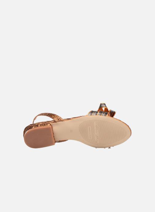 Sandales et nu-pieds Mellow Yellow Belcanto Orange vue haut