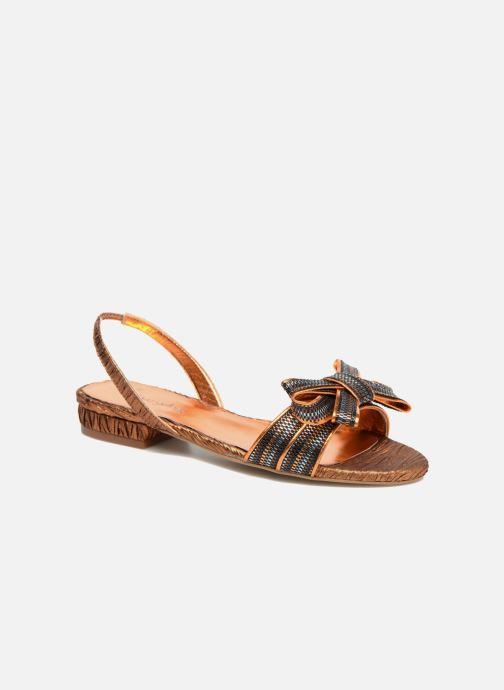 Sandales et nu-pieds Mellow Yellow Belcanto Orange vue détail/paire