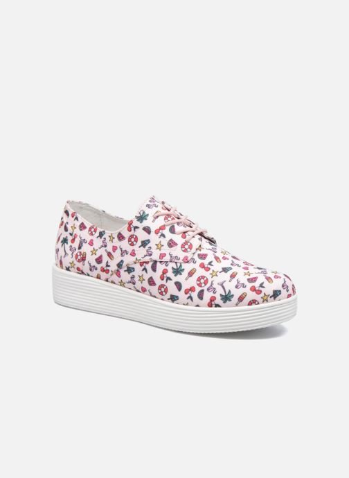 Baskets Mellow Yellow Biplaya Rose vue détail/paire