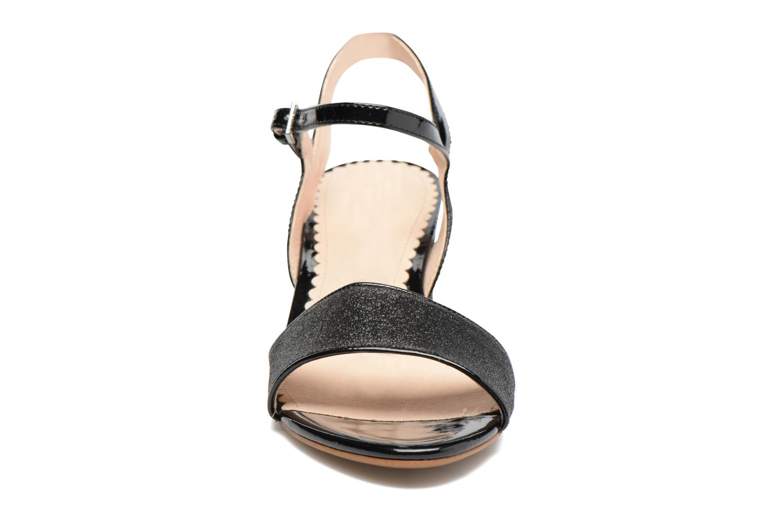 Sandales et nu-pieds Mellow Yellow Badami Noir vue portées chaussures