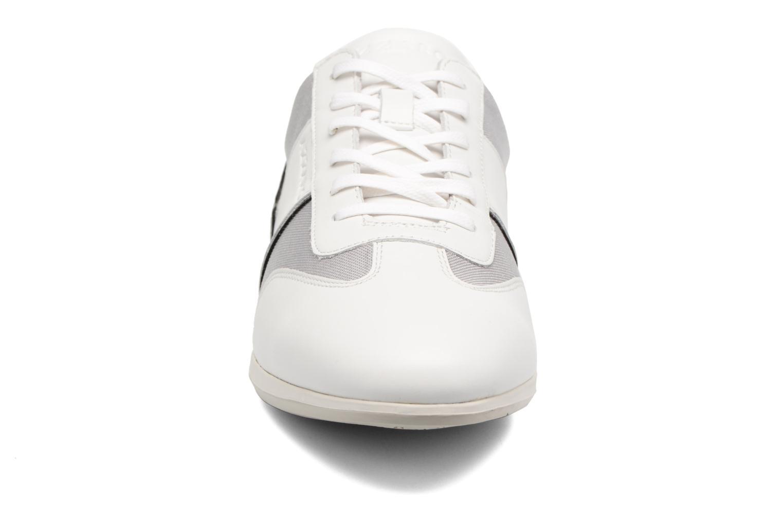 Baskets Azzaro Plizy Blanc vue portées chaussures