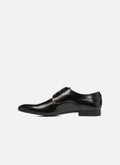 Chaussures à lacets Azzaro Parme Noir vue face