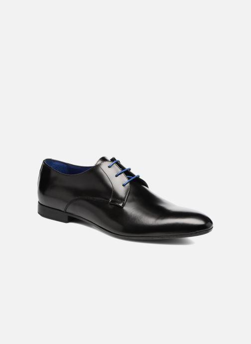 Chaussures à lacets Azzaro Parme Noir vue détail/paire