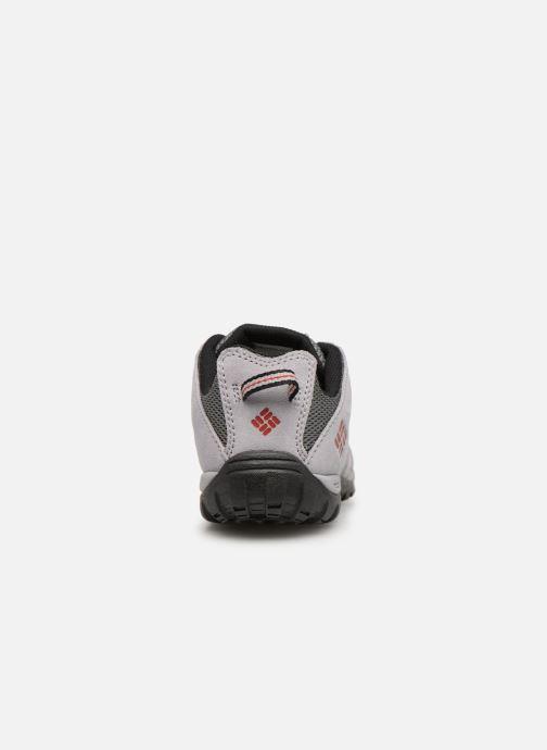 Zapatillas de deporte Columbia Youth Redmond Gris vista lateral derecha