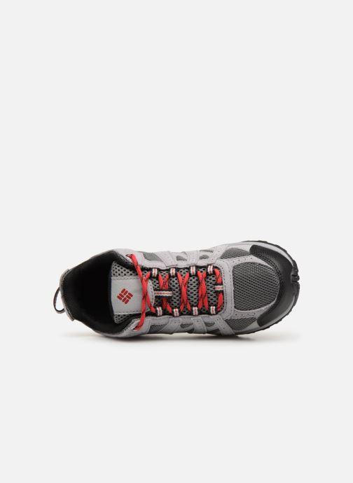 Zapatillas de deporte Columbia Youth Redmond Gris vista lateral izquierda