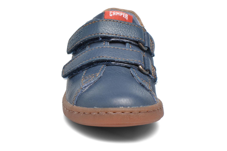 Baskets Camper Uno B Bleu vue portées chaussures
