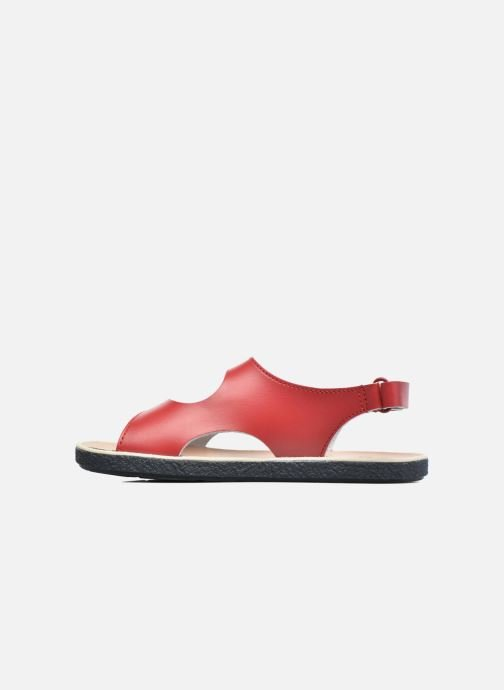 Sandals Camper Miko 2 Red front view