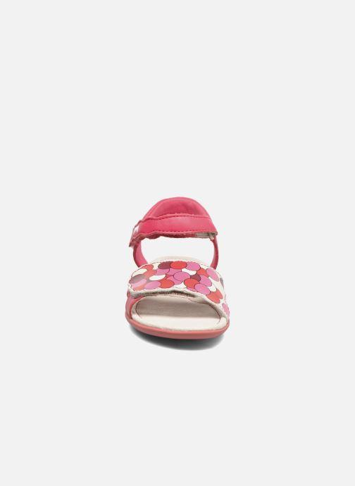 Sandales et nu-pieds Camper Tws E Rose vue portées chaussures