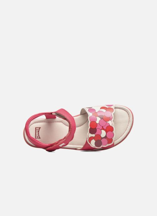 Sandals Camper Tws E Pink view from the left