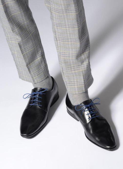 Scarpe con lacci Azzaro Aflint Nero immagine dal basso