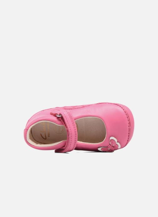 Ballerines Clarks Little Mia Rose vue gauche