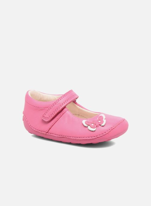 Ballerines Clarks Little Mia Rose vue détail/paire