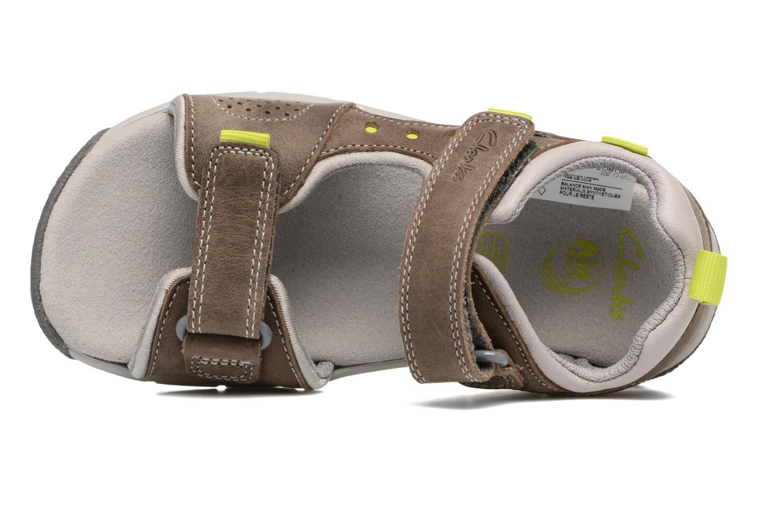 Sandalen Clarks Jolly Wild Grijs links