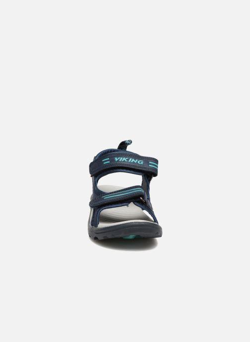 Sandales et nu-pieds Viking Skumvaer II Bleu vue portées chaussures