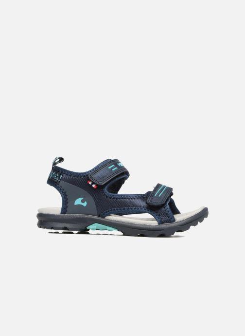 Sandales et nu-pieds Viking Skumvaer II Bleu vue derrière