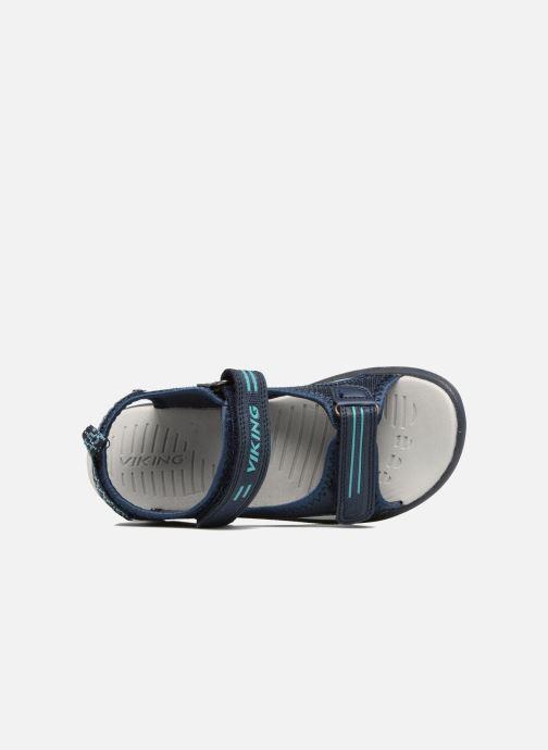 Sandales et nu-pieds Viking Skumvaer II Bleu vue gauche