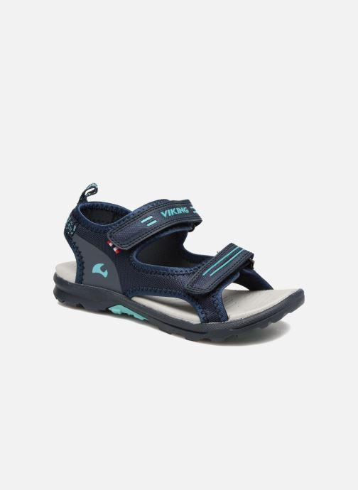 Sandales et nu-pieds Viking Skumvaer II Bleu vue détail/paire