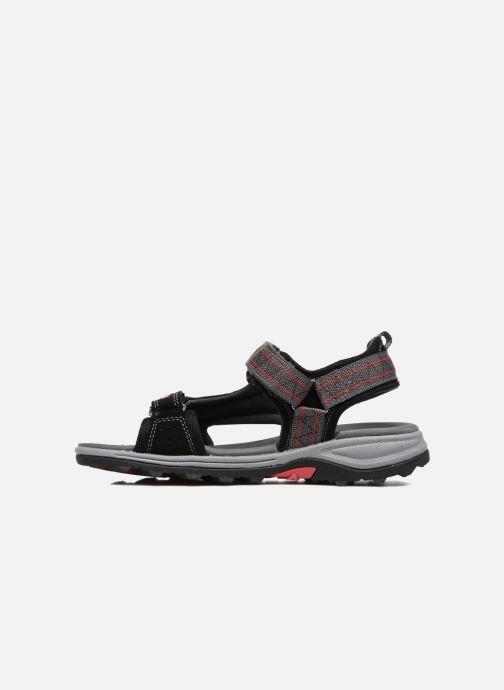 Sandales et nu-pieds Viking Sandoey Noir vue face