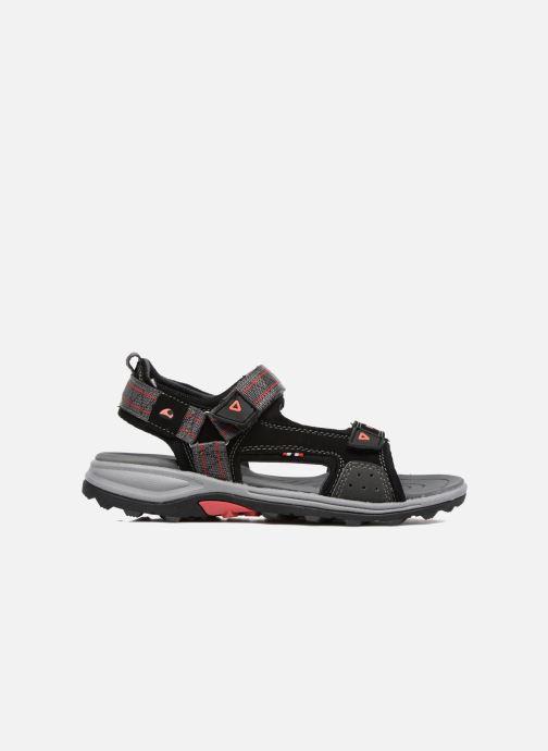 Sandales et nu-pieds Viking Sandoey Noir vue derrière
