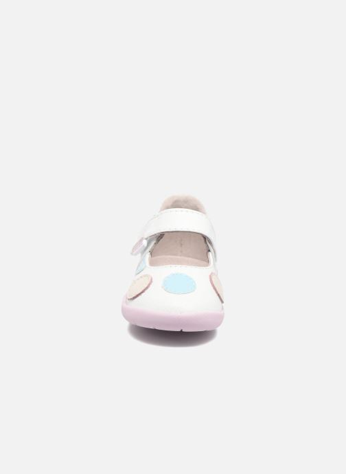 Ballerines Pediped Giselle1 Blanc vue portées chaussures