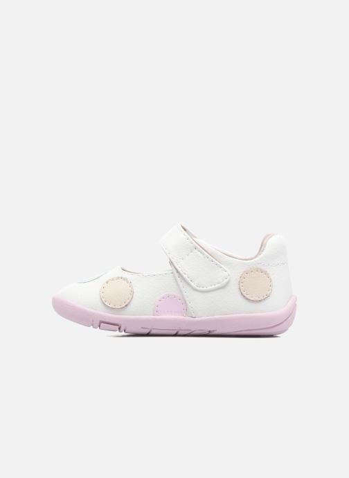 Ballerines Pediped Giselle1 Blanc vue face