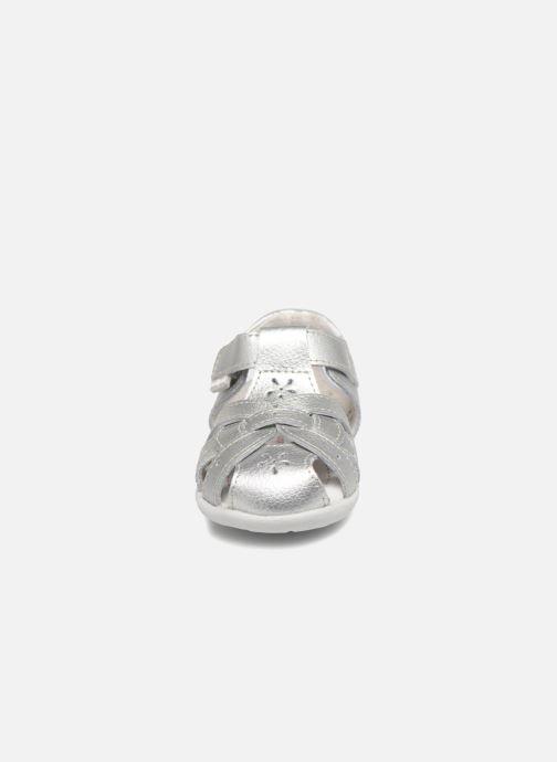 Sandales et nu-pieds Pediped Nikki1 Argent vue portées chaussures