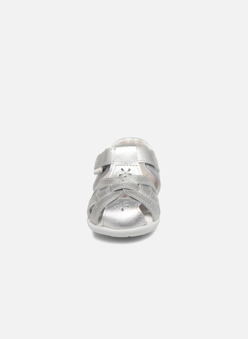 Sandals Pediped Nikki1 Silver model view