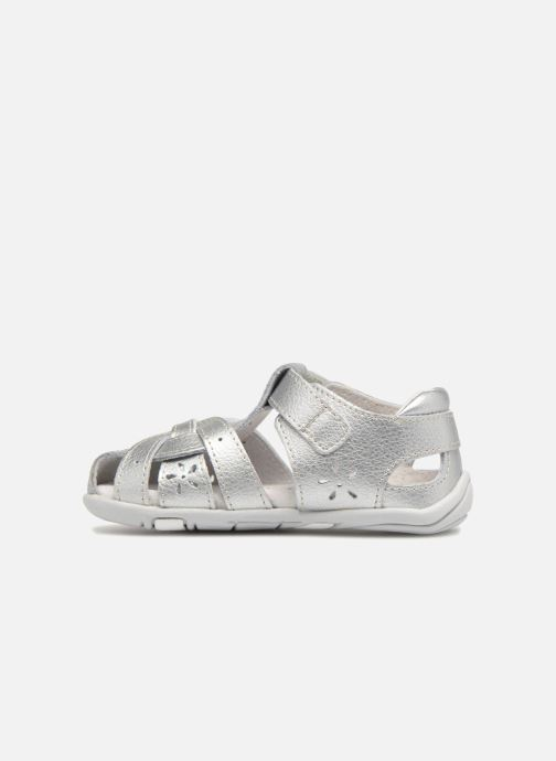 Sandals Pediped Nikki1 Silver front view