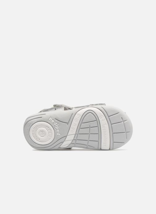 Sandals Pediped Nikki1 Silver view from above