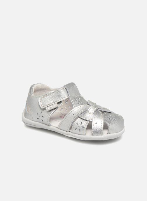 Sandales et nu-pieds Pediped Nikki1 Argent vue détail/paire