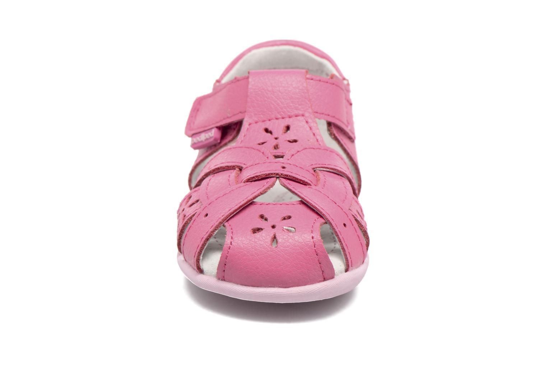 Sandales et nu-pieds Pediped Nikki1 Rose vue portées chaussures