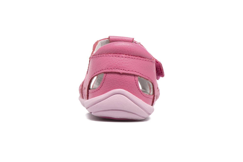 Sandales et nu-pieds Pediped Nikki1 Rose vue droite