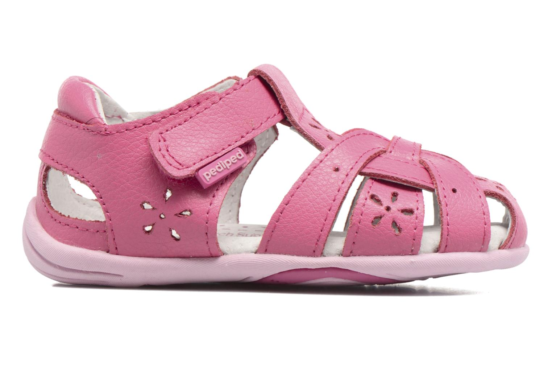 Sandales et nu-pieds Pediped Nikki1 Rose vue derrière