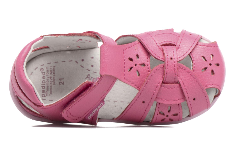 Sandales et nu-pieds Pediped Nikki1 Rose vue gauche