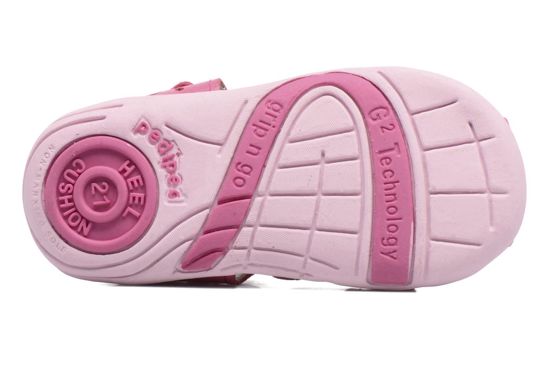 Sandales et nu-pieds Pediped Nikki1 Rose vue haut