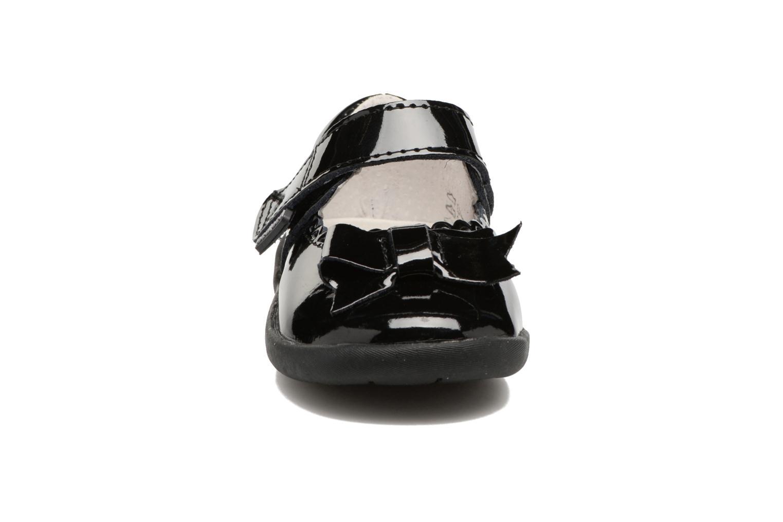 Ballerines Pediped Betty1 Noir vue portées chaussures