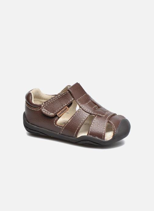 Sandales et nu-pieds Pediped Sydney1 Marron vue détail/paire