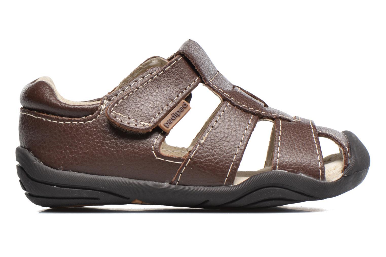 Sandales et nu-pieds Pediped Sydney1 Marron vue derrière