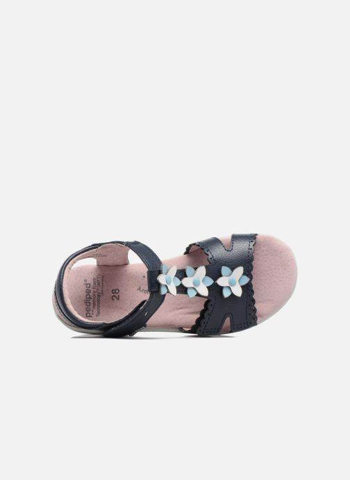Sandales et nu-pieds Pediped Sidra1 Bleu vue gauche