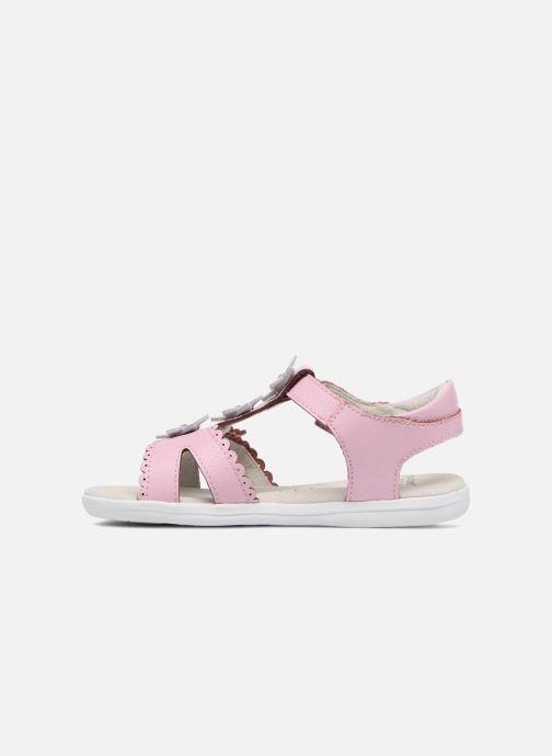 Sandales et nu-pieds Pediped Sidra1 Rose vue face