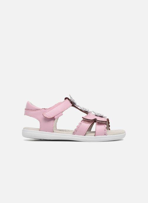 Sandales et nu-pieds Pediped Sidra1 Rose vue derrière
