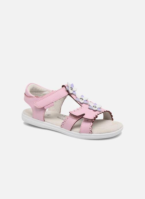 Sandales et nu-pieds Pediped Sidra1 Rose vue détail/paire