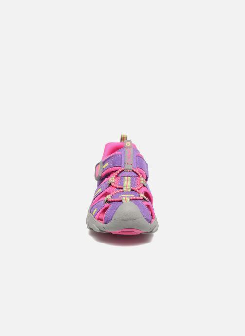 Sandales et nu-pieds Pediped Canyon Rose vue portées chaussures