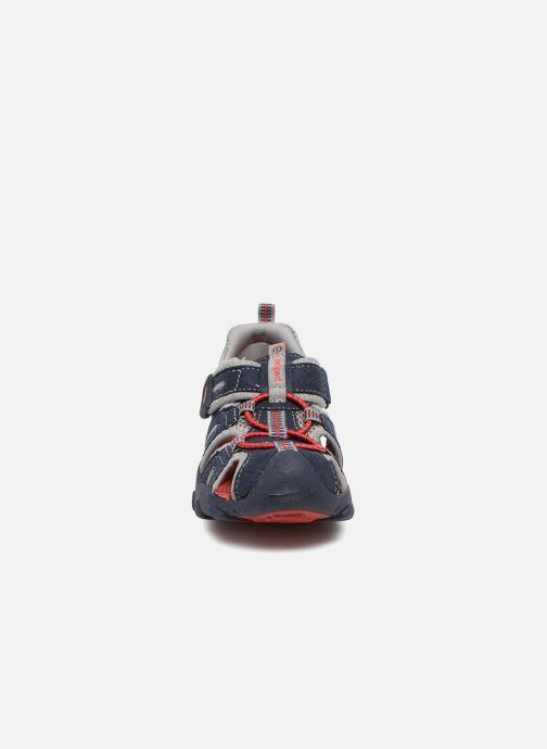 Sandales et nu-pieds Pediped Canyon Bleu vue portées chaussures