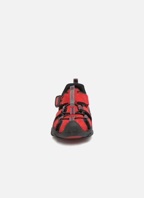 Sandales et nu-pieds Pediped Canyon Rouge vue portées chaussures