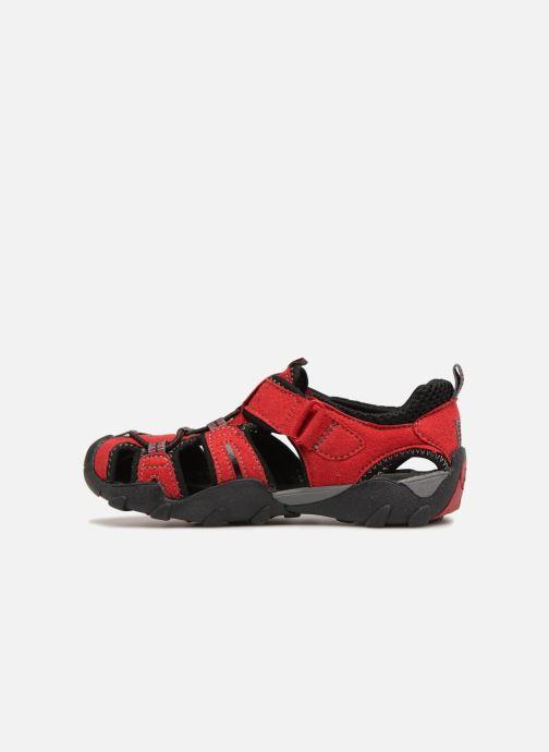 Sandales et nu-pieds Pediped Canyon Rouge vue face