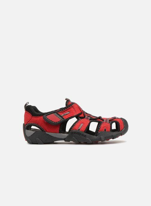 Sandales et nu-pieds Pediped Canyon Rouge vue derrière