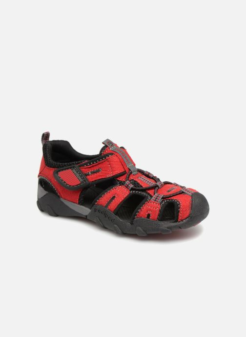 Sandals Pediped Canyon Red detailed view/ Pair view