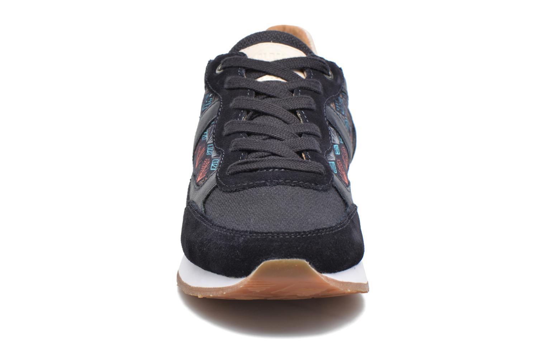 Baskets P-L-D-M By Palladium Segundo Mix W Bleu vue portées chaussures